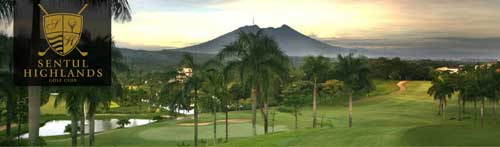 Sentul Highlands Golf Club in Sentul City