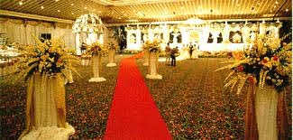 Indonesina wedding reception - grand reception room