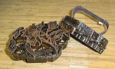 Cap menggunakan tali tembaga untuk membuat berbagai desain