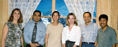 The original Organizing Committee of the Living in Indonesia web site ... which began dreaming up this whole idea in April 1997.