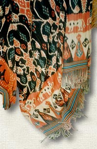 Ikat textile from Sumba