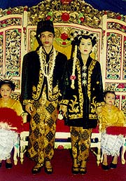 Javanese Wedding Couple