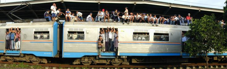 Kereta Api - Trains in Indonesia