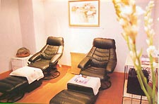 Life Spa's reflexology facilitiy