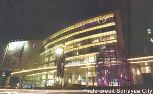 Exterior view of Senayan City