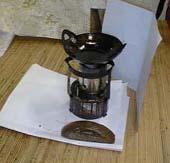 Wajan yang digunakan untuk mencairkan lilin