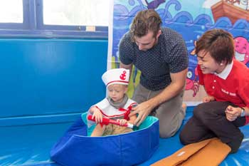 creative play nurtures a child's education in a Jakarta pre-school