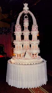 Indonesian wedding cake