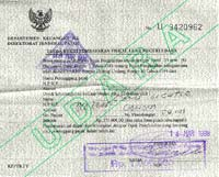 Visas And Documentation Information On Working Documents For Expatriates In Indonesia