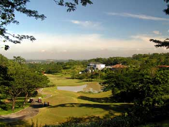 Beautiful homes along the golf course in Sentul City Bogor